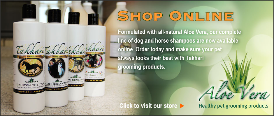 Takhari Grooming Products